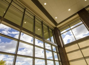 commercial glass wall panels