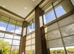 commercial Interior glass corners