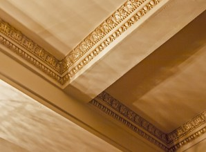 painted ceiling details