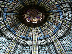 Printemps Haussmann Decorative Glass Ceiling