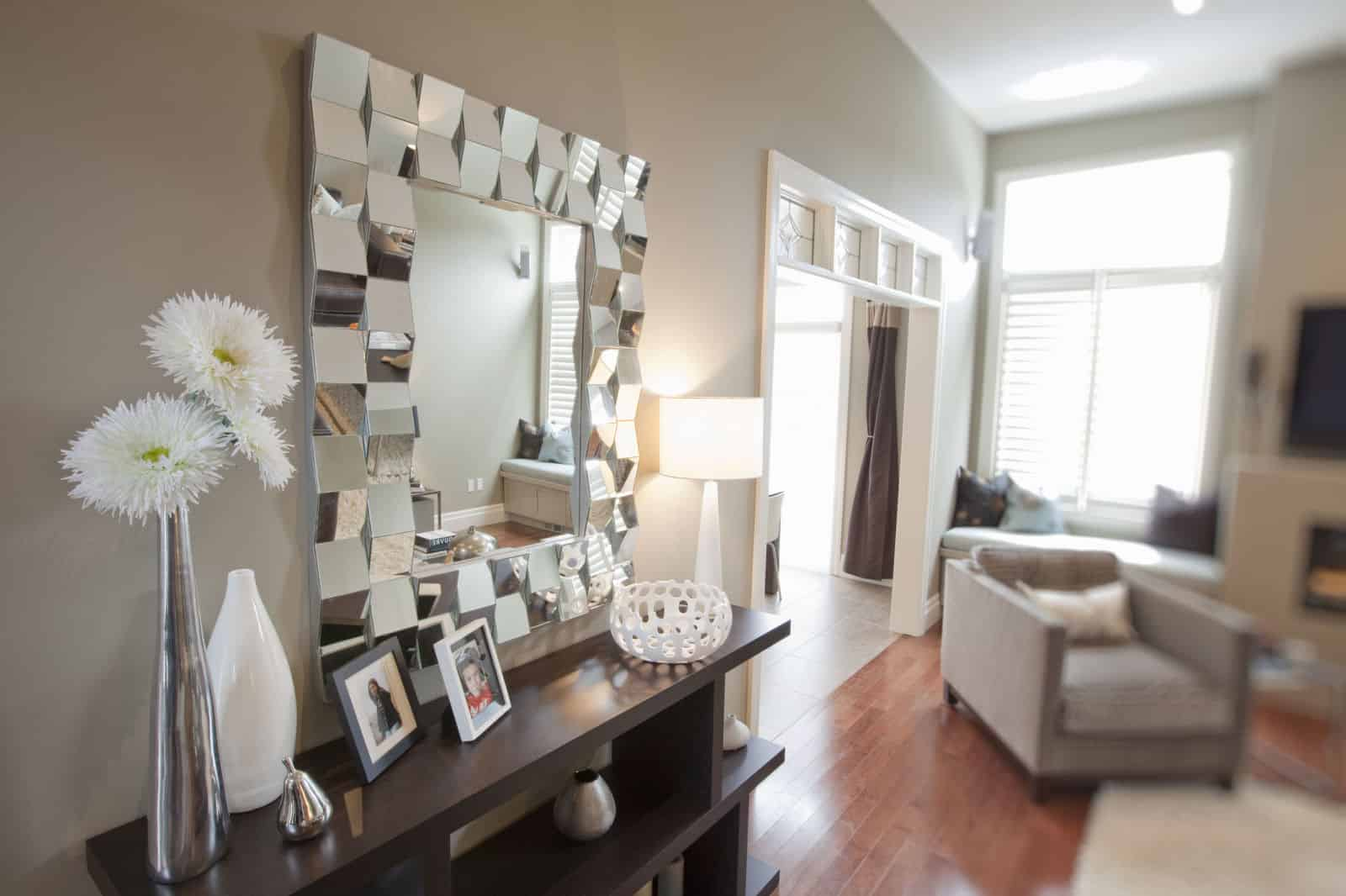 Living Room Mirrors Part - 19: Gallery-1473691996-statement-mirror-living-room