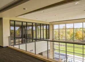 commercial Interior glass installed