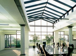 Commercial Glass Conference Room