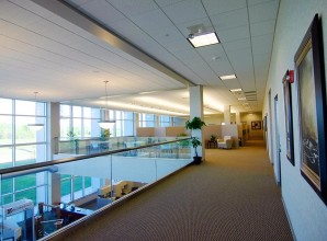 Interior Commercial Glass Seperators