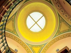 Skylight Church Glass