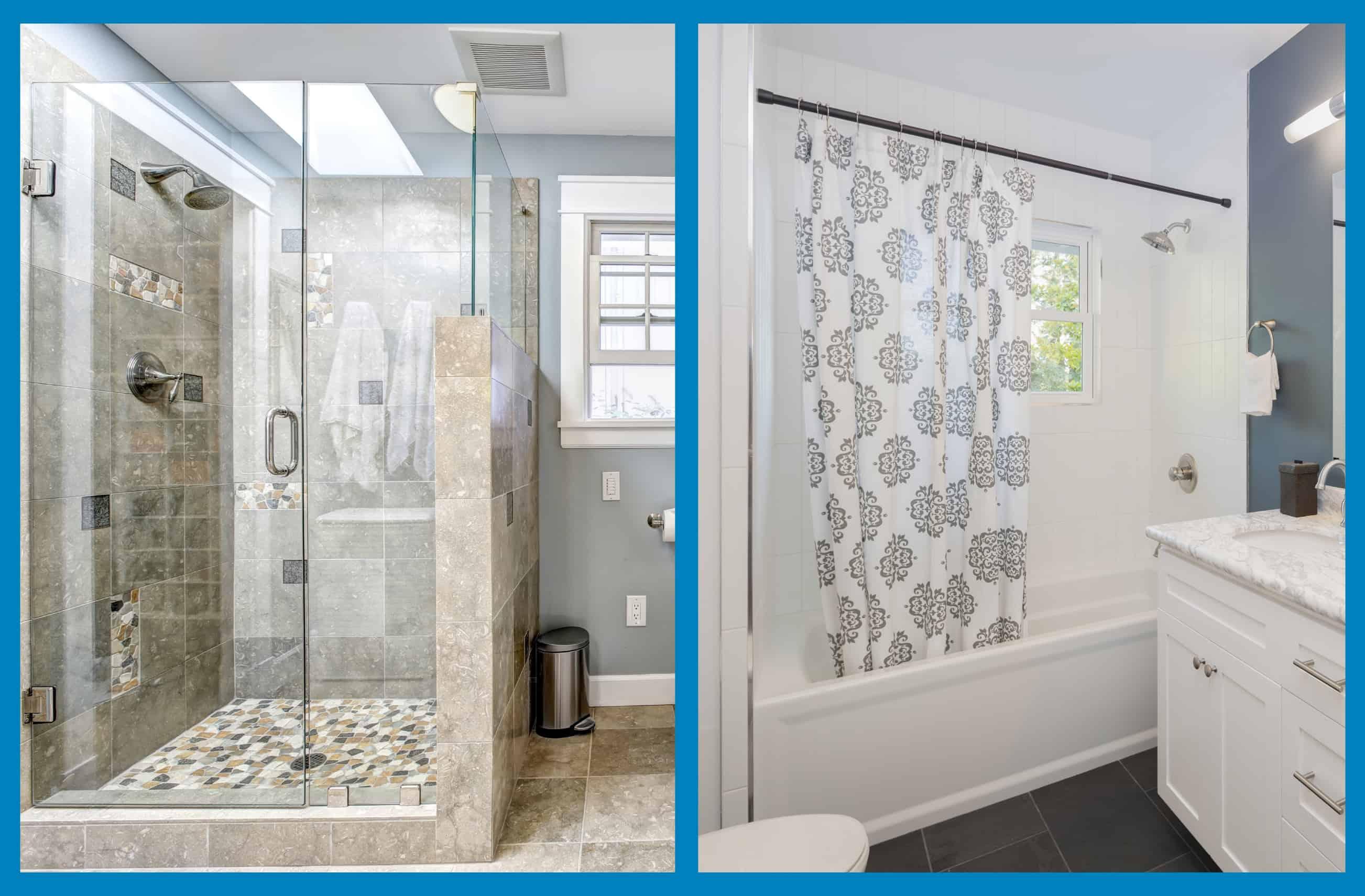 Benefits Of A Shower Door Vs Curtain